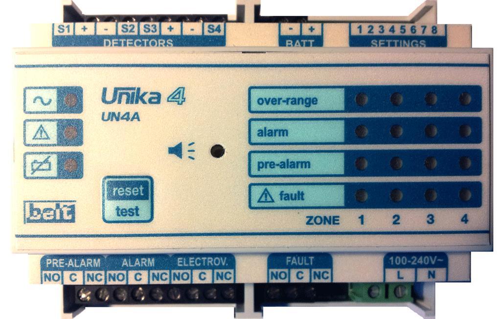 Блок управления и сигнализации (БУС) UNIKA B20-UN2A; B20-UN4A