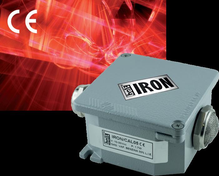 Датчики для обнаружения горючих газов с выходом RS485 / 4-20 mA степень защиты IP65