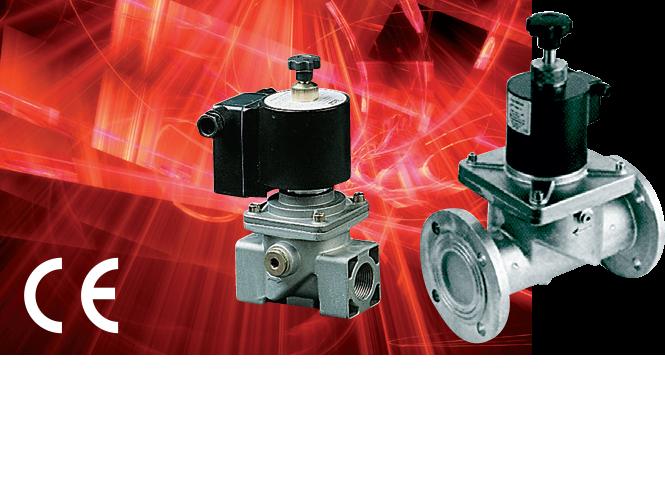 Электромагнитные клапаны серии 600RM/900RM