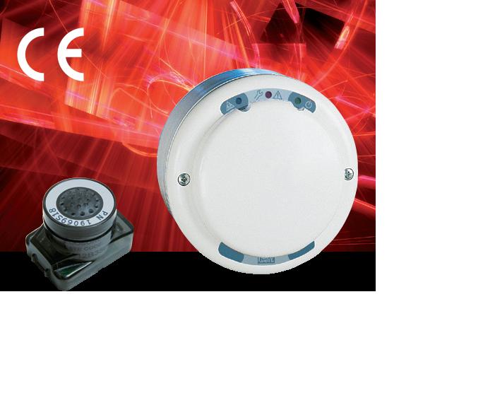 Пороговый датчик газа WPD на CO с аналоговым и релейным выходами B20-WPD24BR/C3